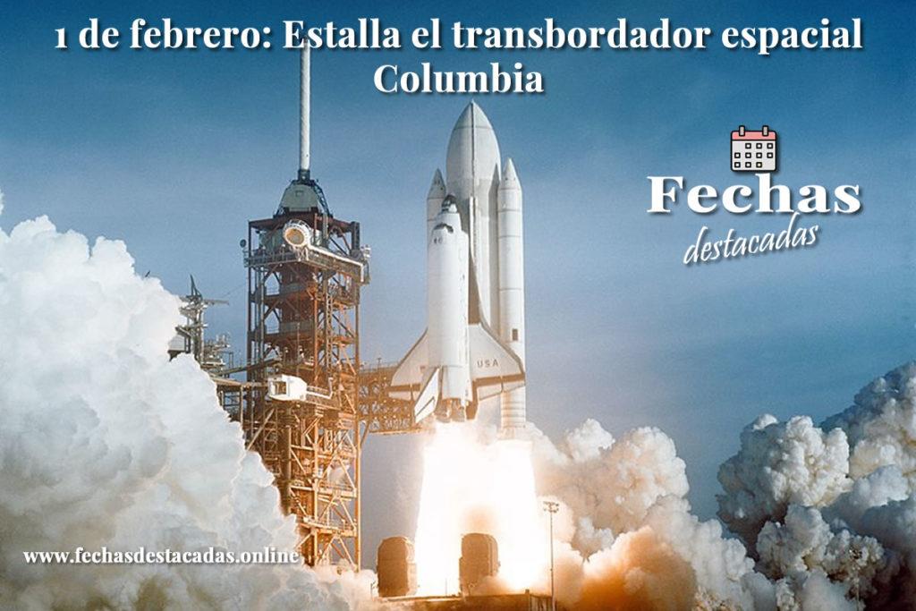 1 de febrero de 2003: Estalla el transbordador espacial Columbia