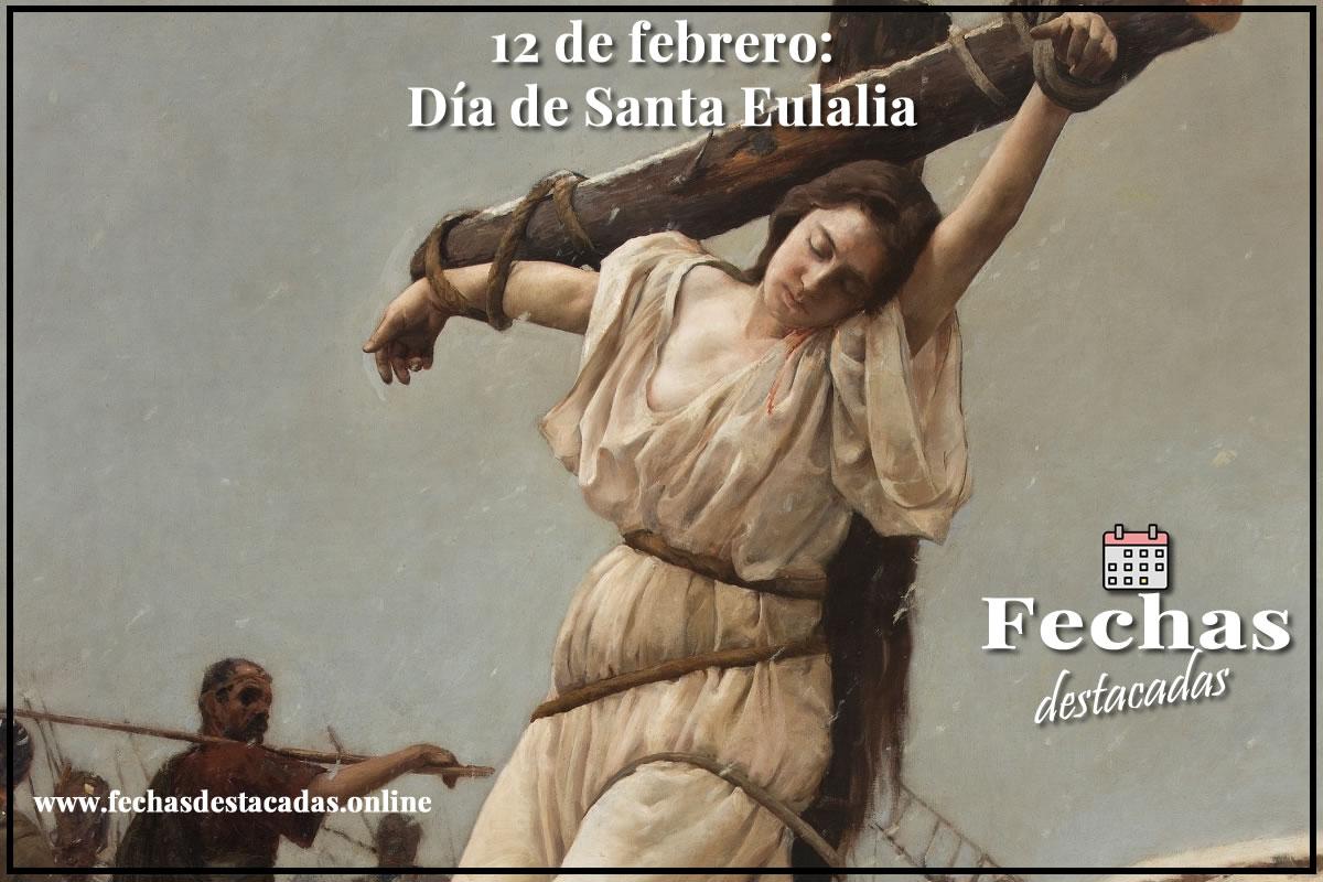 12 de febrero es día de Santa Eulalia, patrona de Barcelona