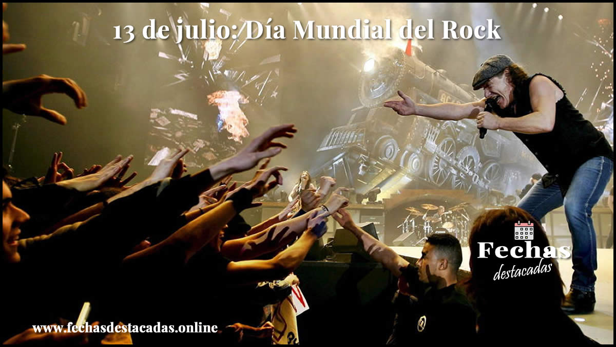 13 de julio: Dia Mundial del Rock