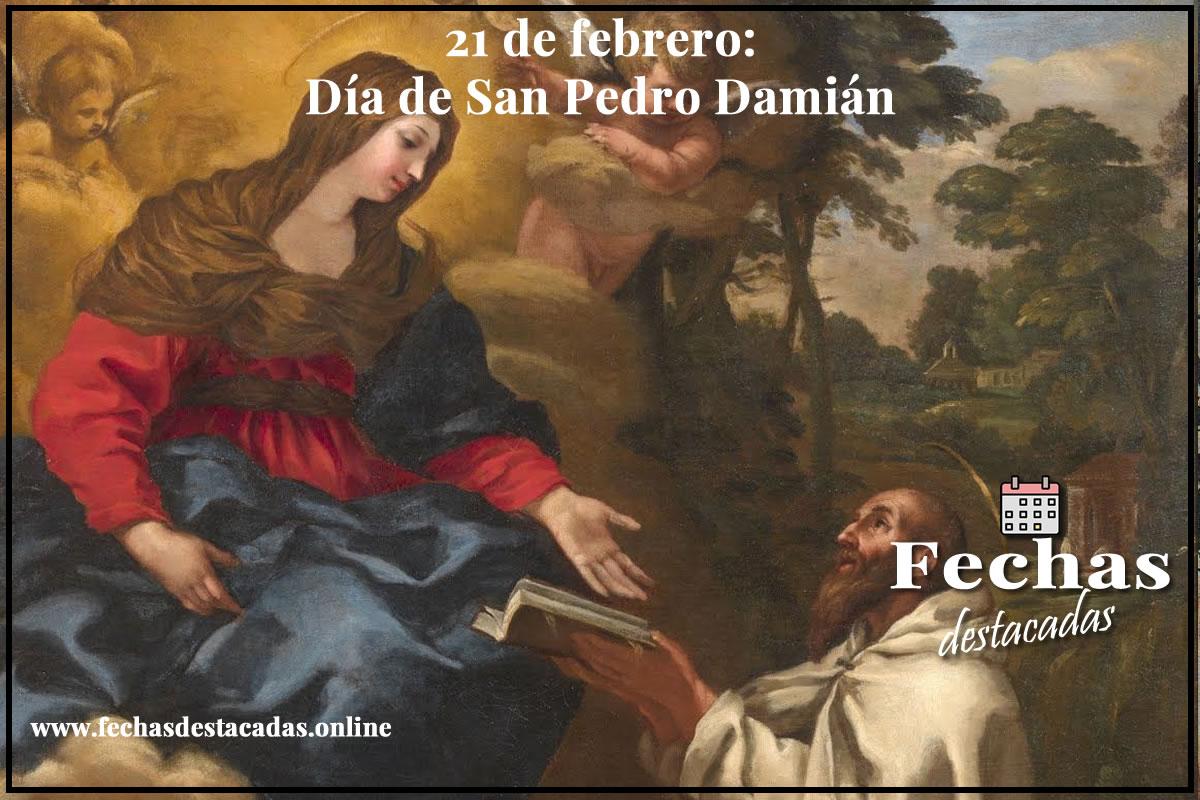 21 de febrero: Día de San Pedro Damián
