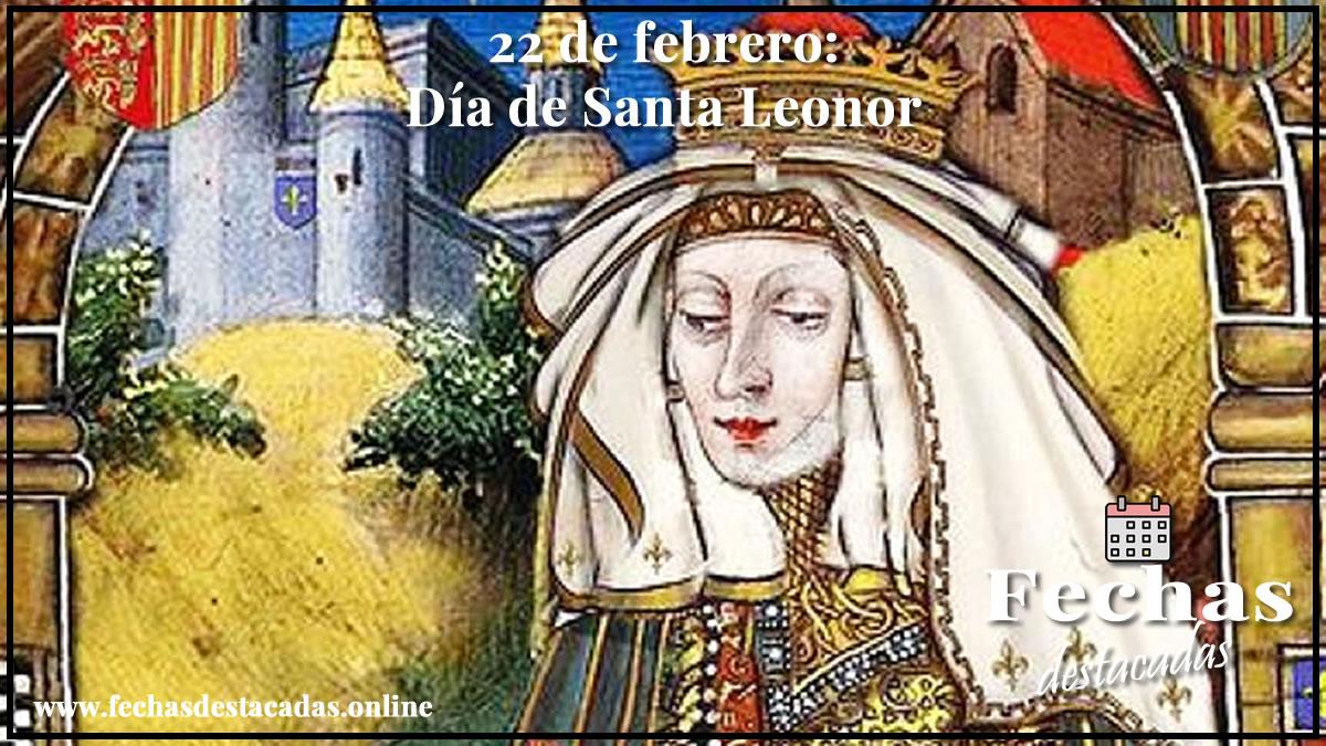 22 de febrero: Día de Santa Leonor