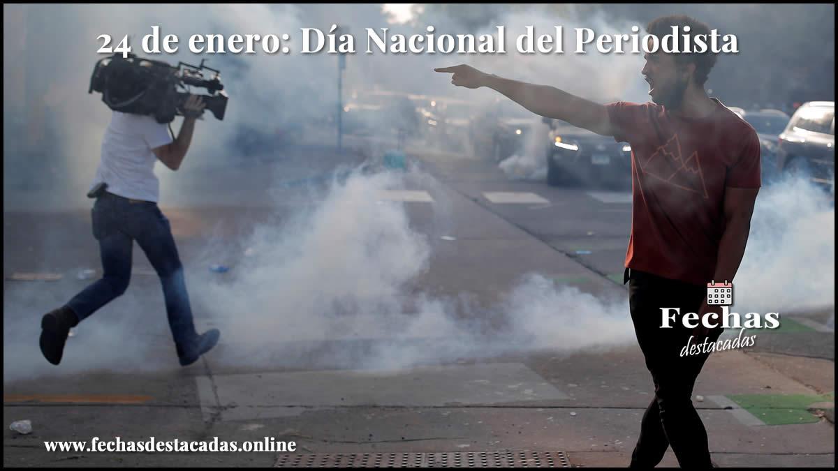 24 de enero: Día Nacional del Periodista