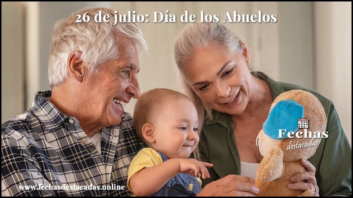 26 de julio: Día de los Abuelos