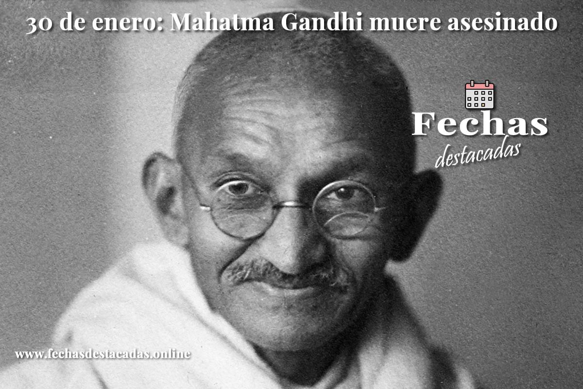 30 de enero de 1948: Mahatma Gandhi muere asesinado