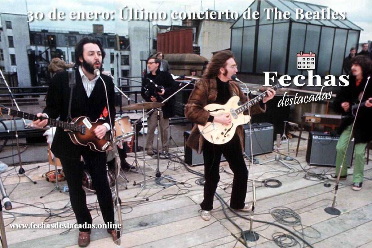 30 de enero de 1969: Último concierto de The Beatles