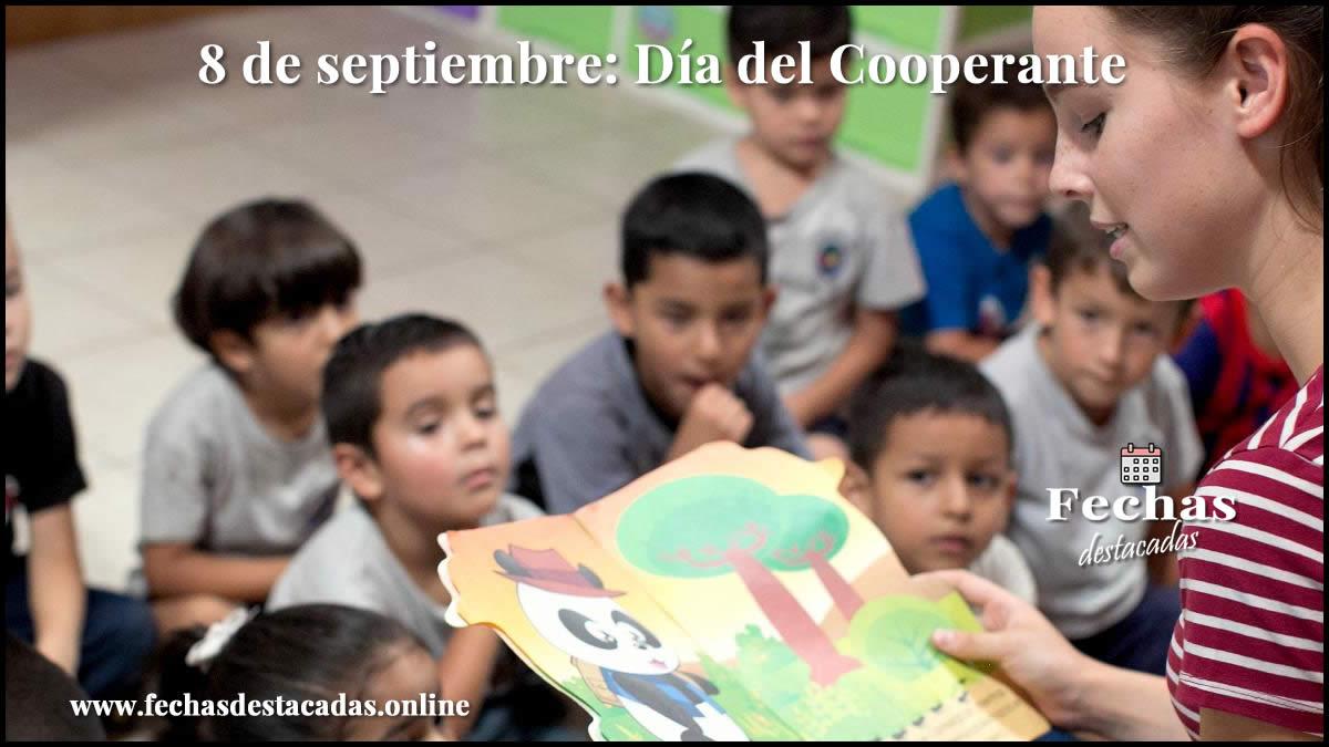 8 de septiembre: Día del Cooperante