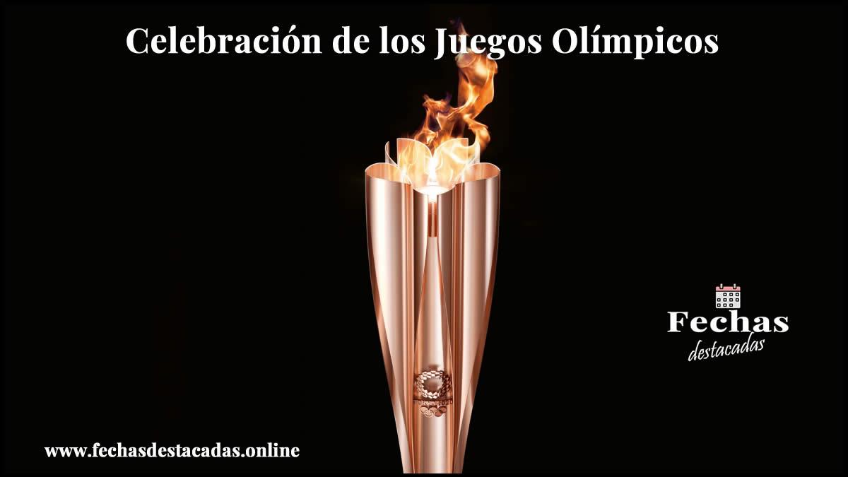 Celebración de los Juegos Olímpicos