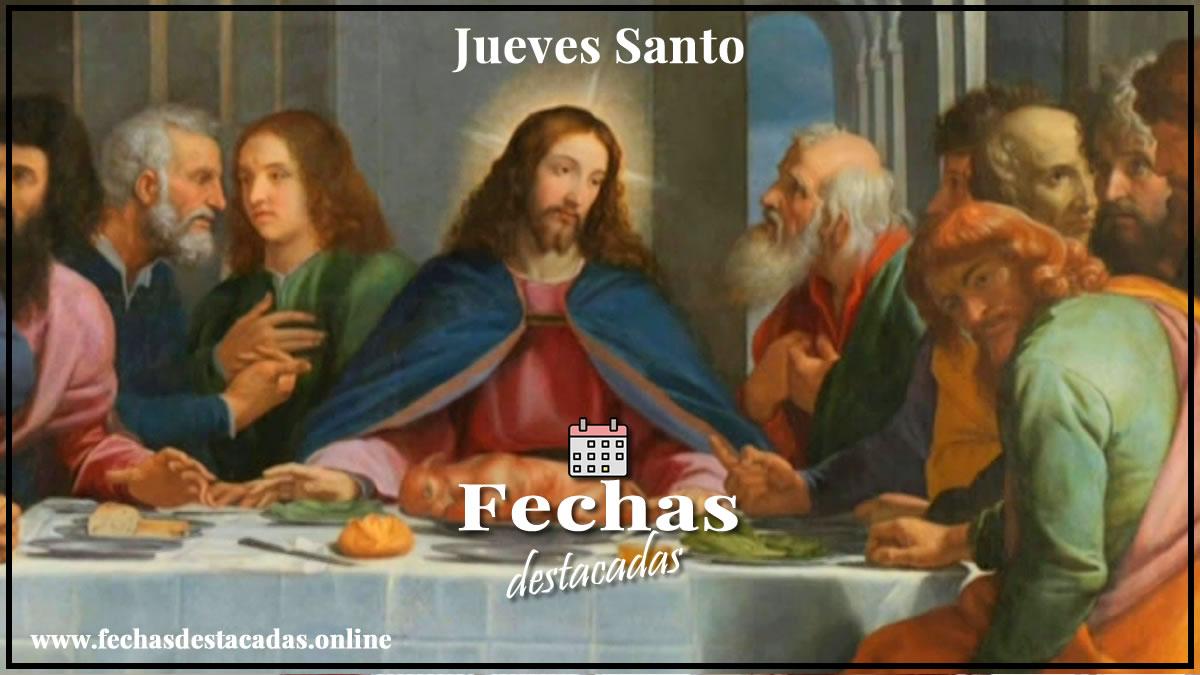 Jueves Santo, eje central de la Semana Santa