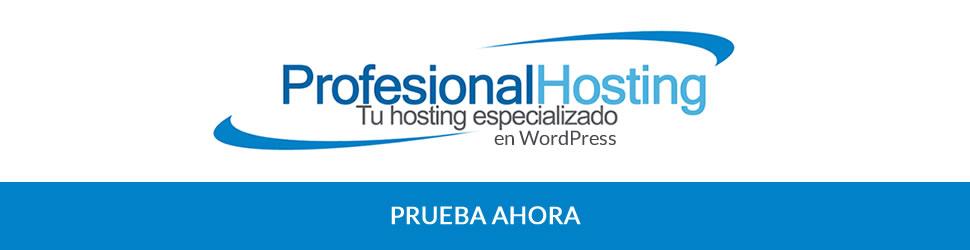 Profesional Hosting - Especialistas en WordPress
