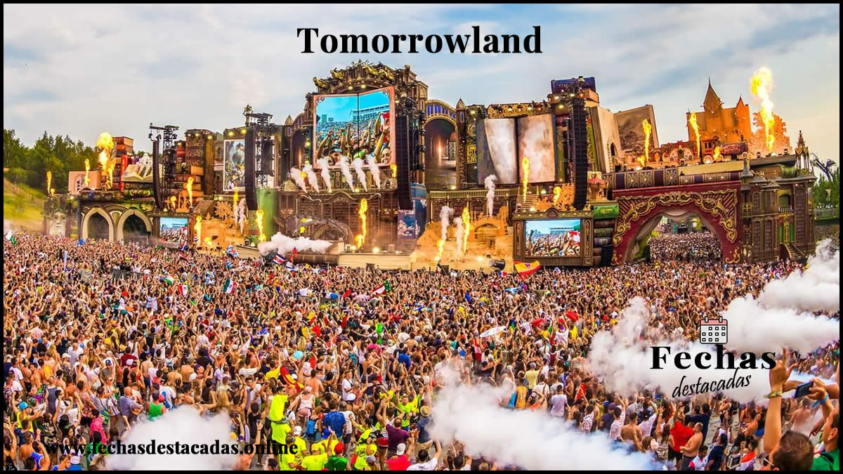 Tomorrowland es el festival de música electrónica más grande del mundo