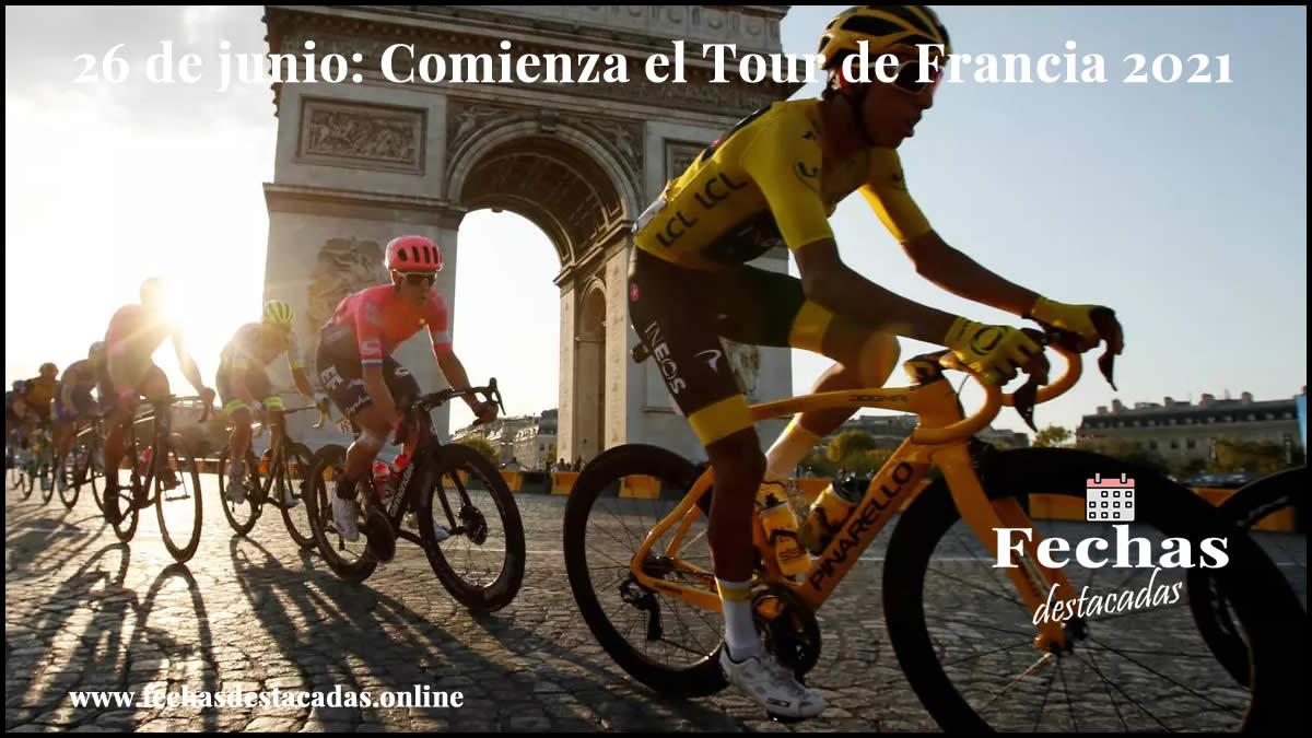 26 de junio de 2021: Comienza el Tour de Francia