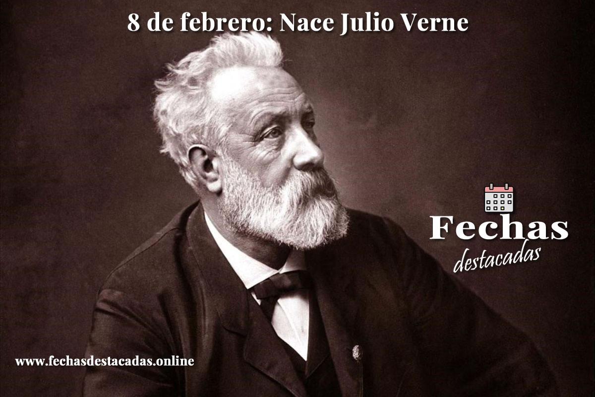 8 de febrero de 1828: Nace Julio Verne