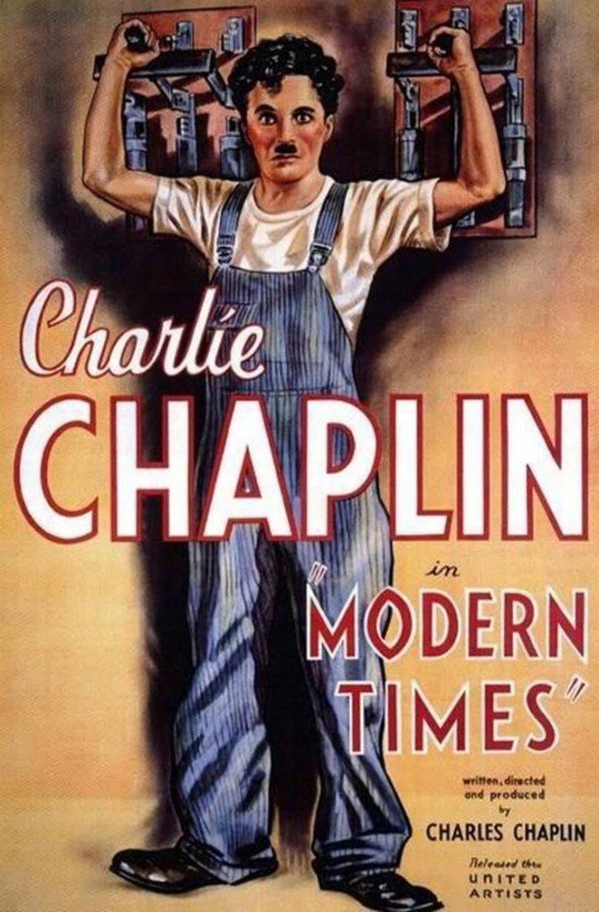 Tiempos Modernos de Charles Chaplin